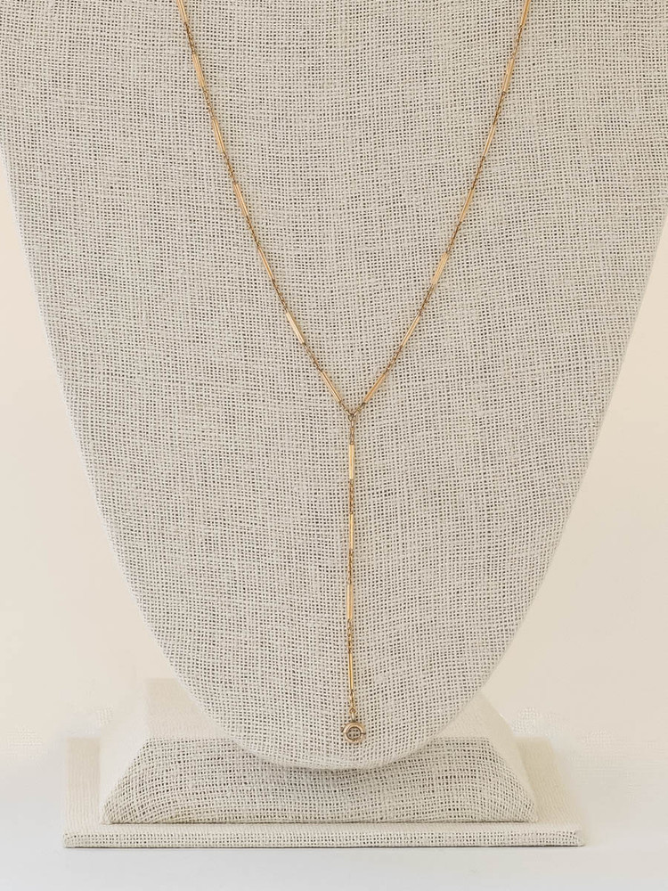 Vintage Y Chain in 14 Kt Gold