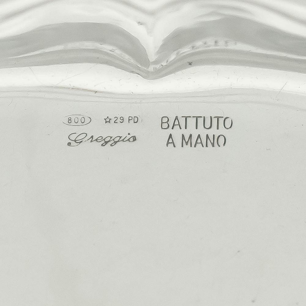 Italian Silver Tray by Greggio