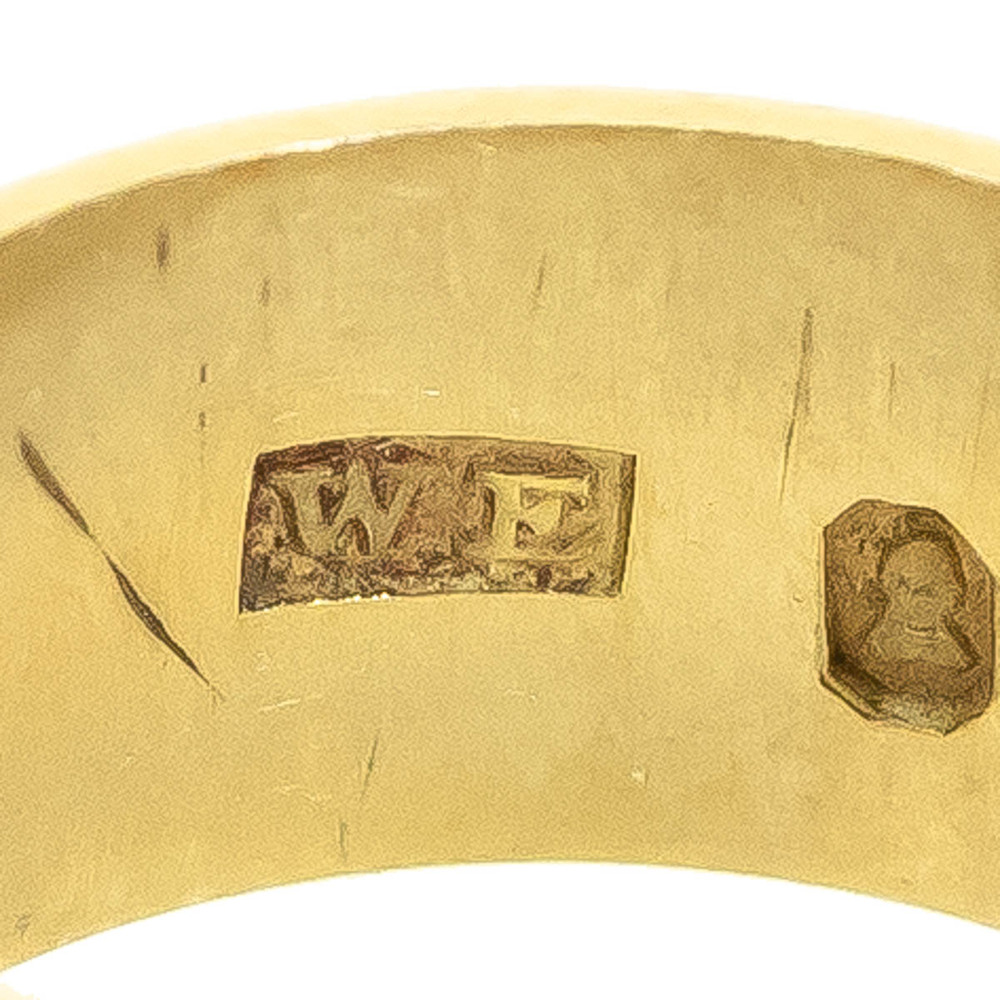 Makers Mark WF George IV England