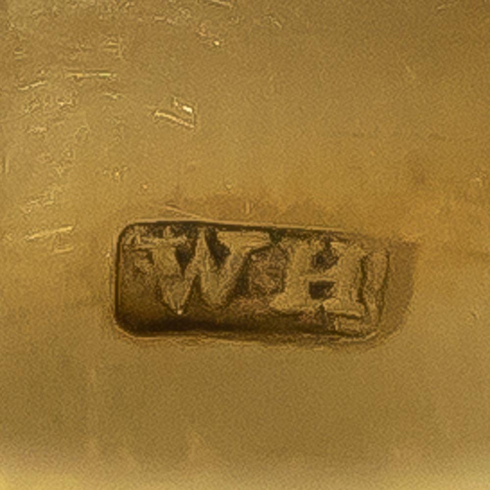 Makers mark for Georgian memorial ring