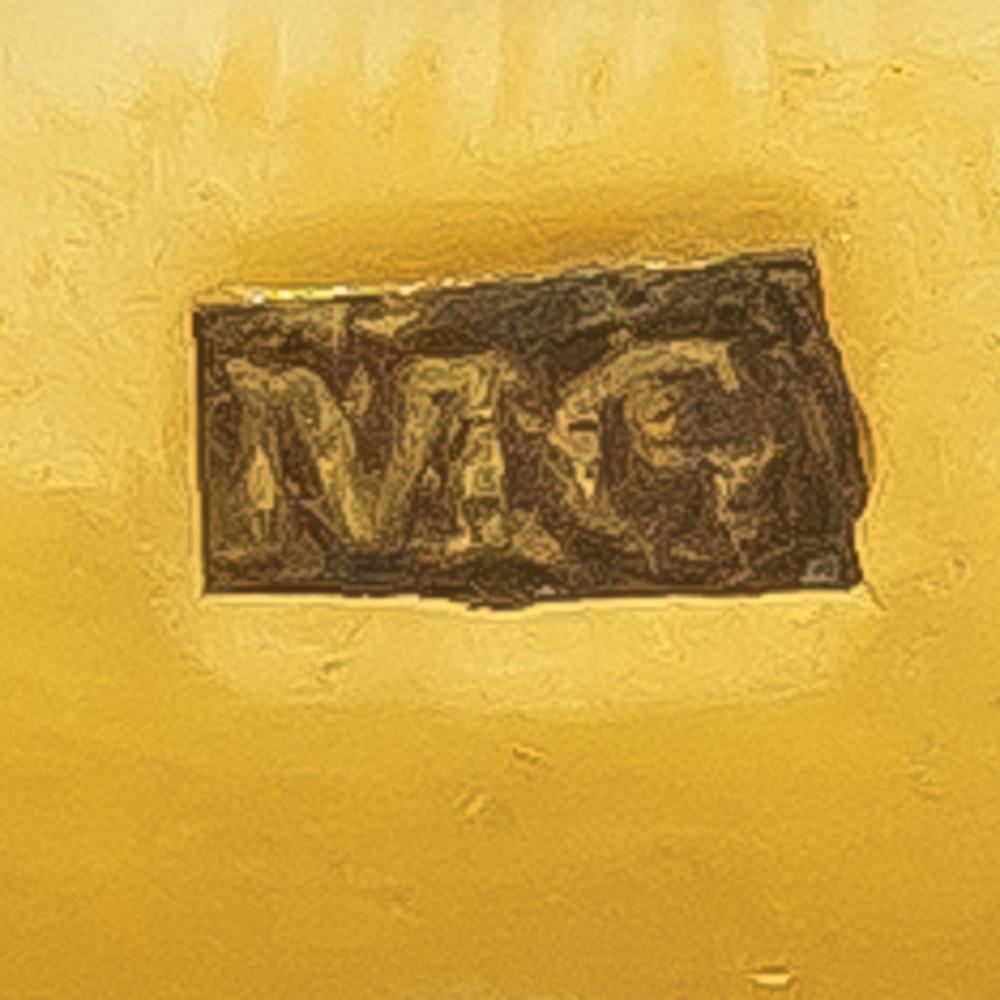 Georgian mourning ring, maker's mark M.G.