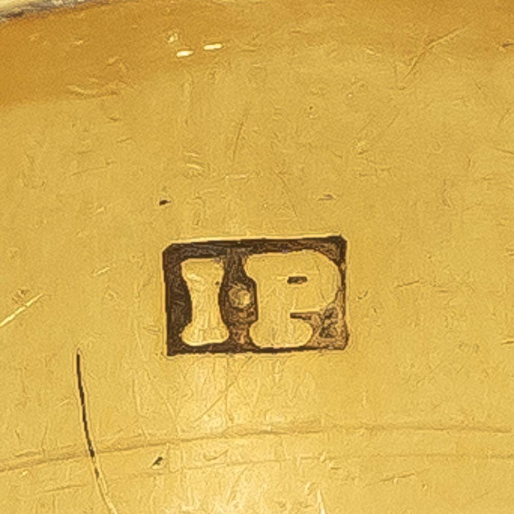 Maker's mark on antique Georgian mourning ring