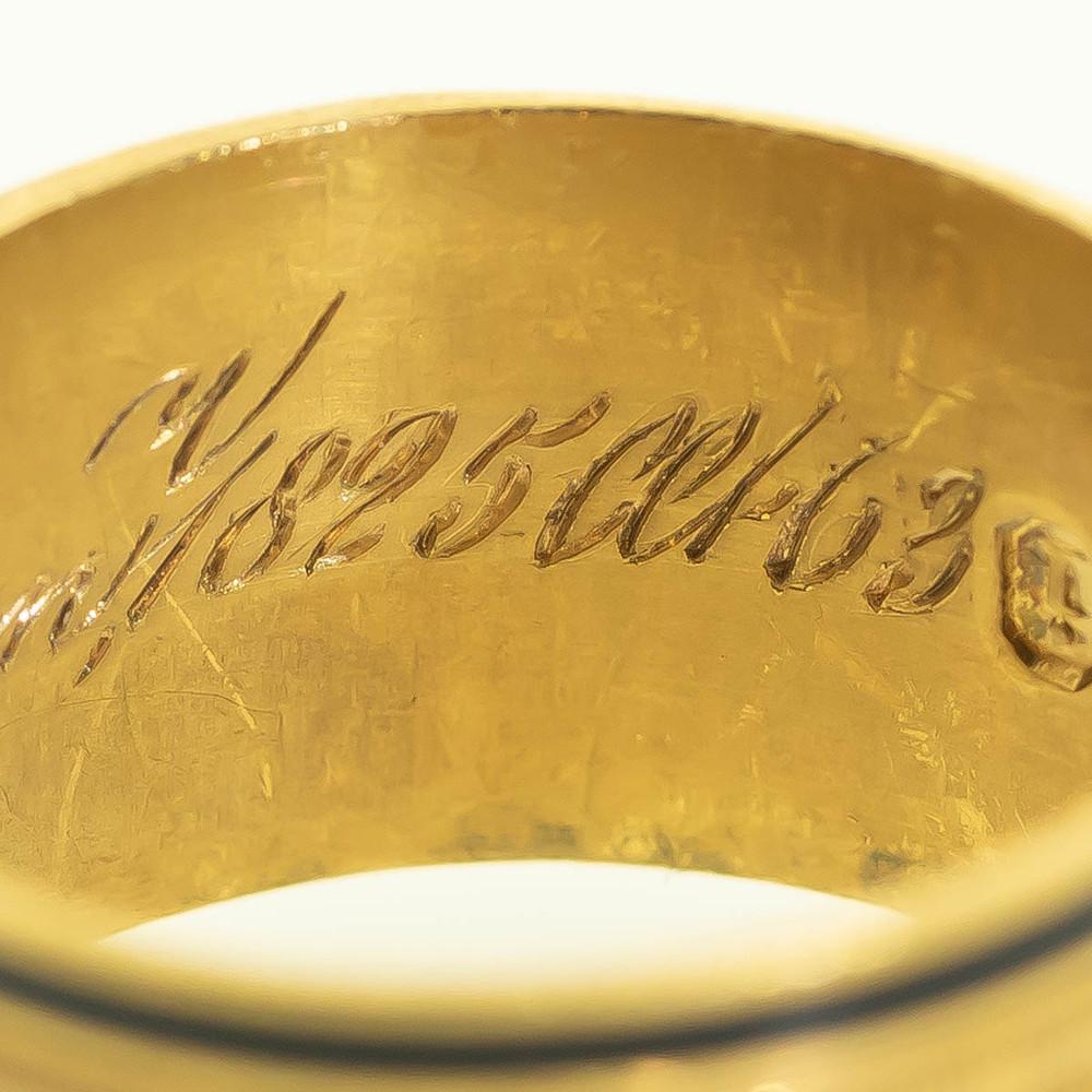 January 12 1825 engraved on Georgian Jewelry