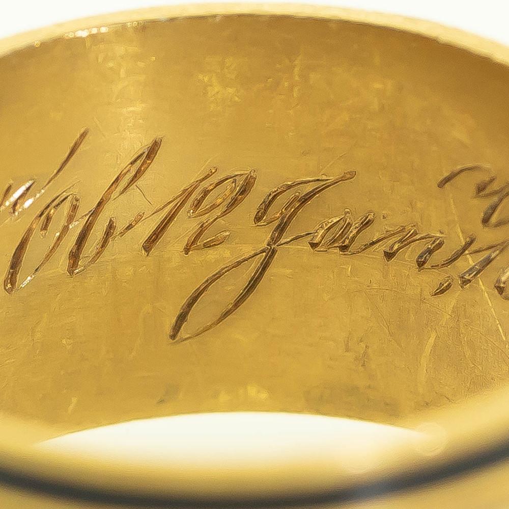 Inscription on Georgian Ring