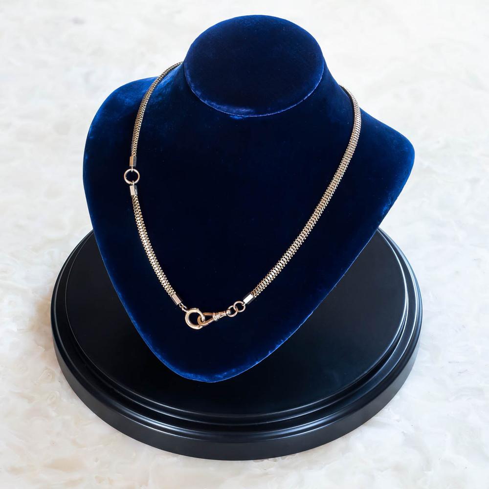 antique watch chain necklace