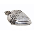 18th Century Silver Heart