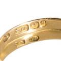 Hallmarked Antique Gold Ring