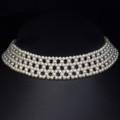 Woven Pearl Collar