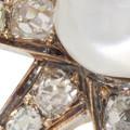 Pearl and Diamond Star Pin, Napoleon III