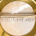 15 Ct Gold Fox Head Brooch by WB Ford