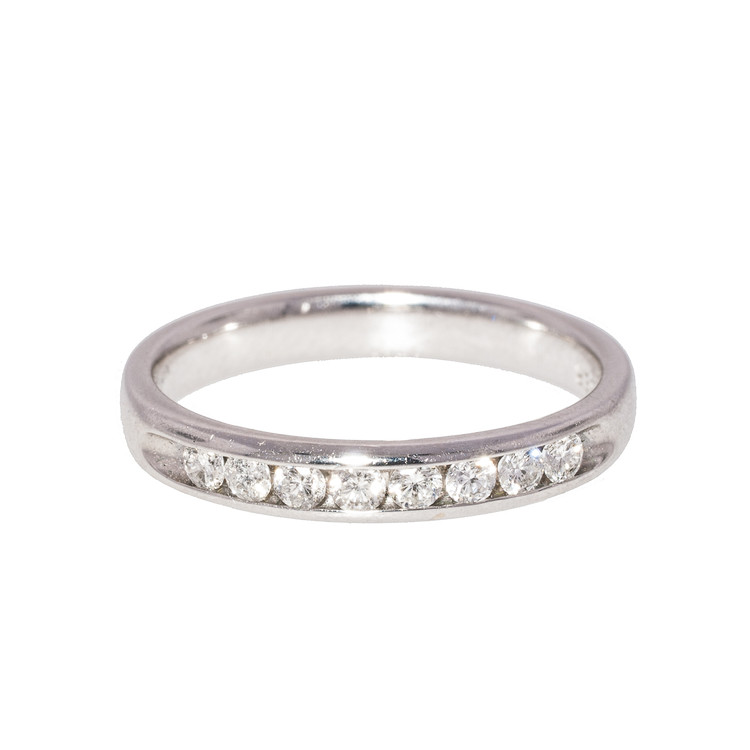 Diamond Half-Eternity Band Ring