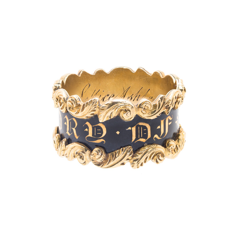Antique Georgian Ring in 18 ct Gold