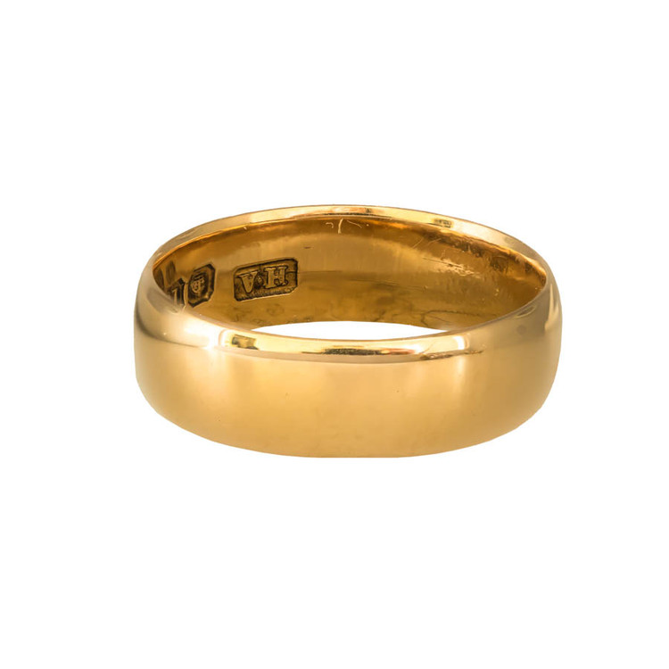 Antique: Edwardian Gold Wedding Band/Stacking Ring