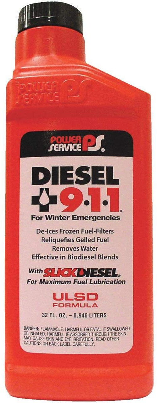 Power Service® 32 oz Diesel 911  18025