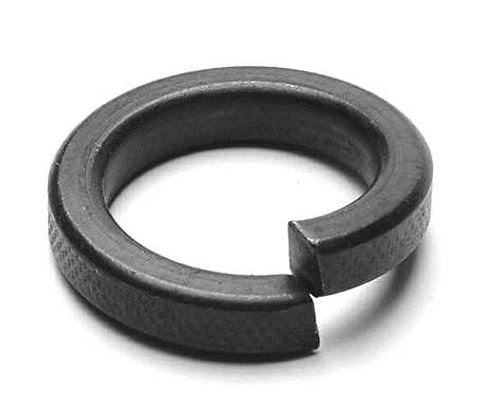 #10 Hi-Collar Socket Head Cap Screw Lock Washer - Black Oxide  013012