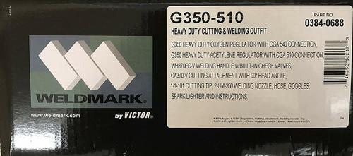 G350-510 Heavy Duty Cutting & Welding Torch Kit   0384-0688