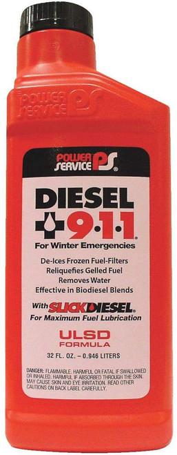 Power Service® 32 oz Diesel 911  18025
