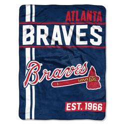 Atlanta Braves MLB Walk Off Micro Raschel Throw