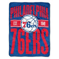 Philadelphia 76ers NBA Clear Out Micro Raschel Throw