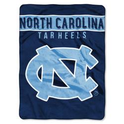 North Carolina Tar Heels Basic Raschel Throw Blanket