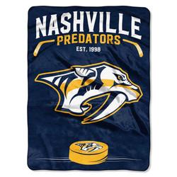 Nashville Predators NHL Inspired Raschel Throw