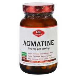 Olympian Labs Agmatine - 500 mg - 60 Capsules