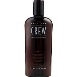 American Crew by American Crew 3-in-1 (Shampoo, Conditioner, & Body Wash) 8.4 oz