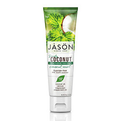 Jason Simply Coconut Strengthening Toothpaste Coconut Mint - 4.2 oz