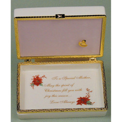 A Christmas Wish Music Box - Mother