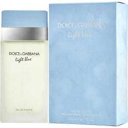 D & G Light Blue by Dolce & Gabbana Eau De Toilette Spray 6.7 oz
