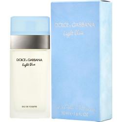 D & G Light Blue by Dolce & Gabbana Eau De Toilette Spray 1.6 oz