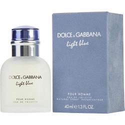 D & G Light Blue by Dolce and Gabbana Eau De Toilette Spray 1.3 oz