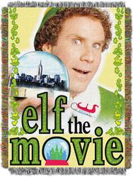 "Elf, ""Elffin' Movie"" Woven Tapestry Throw Blanket"