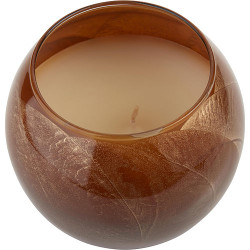 Mahogany Candle Globe