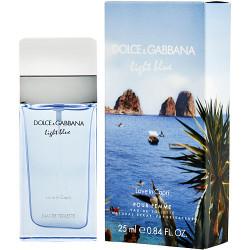 D & G Light Blue Love In Capri by Dolce & Gabbana Eau De Toilette Spray 0.84 oz
