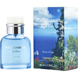 D & G Light Blue Beauty Of Capri by Dolce & Gabbana Eau De Toilette Spray 1.4 oz