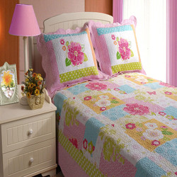 Just 4 Kids Collection Adora Multi Color Standard Sham by Greenland Home Fashions
