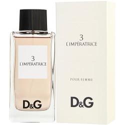 D & G 3 L'Imperatrice by Dolce & Gabbana Eau De Toilette Spray 3.3 oz