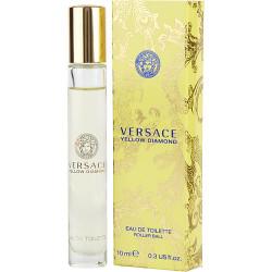 Versace Yellow Diamond by Gianni Versace Mini Eau De Toilette Rollerball 0.33 oz