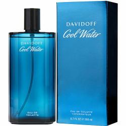 Cool Water by Davidoff Eau De Toilette Spray 6.7 oz