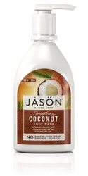 Jason Natural Products Smoothing Coconut Body Wash - 30 Oz
