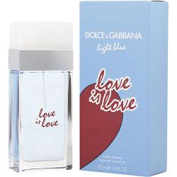 D & G Light Blue Love Is Love Eau De Toilette Spray 1.7 oz