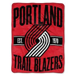 Portland Trail Blazers NBA Clear Out Micro Raschel Throw