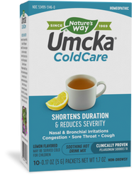 Nature's Way Umcka ColdCare Soothing Hot Drink - Lemon - 10 Packets