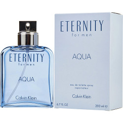 Calvin Klein Eternity Aqua Eau De Toilette Spray 6.7 oz