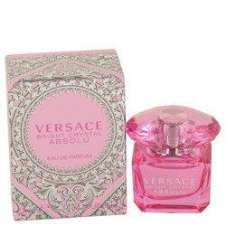 Bright Crystal Absolu by Versace Mini EDP .17 oz for Women
