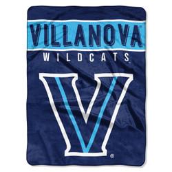 Villanova Wildcats Basic Raschel Throw Blanket