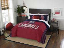 St. Louis Cardinals MLB Bedding Full/Queen Comforter and 2 Sham Set