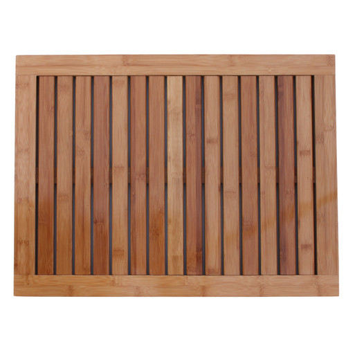 Oceanstar Bamboo Floor and Shower Mat