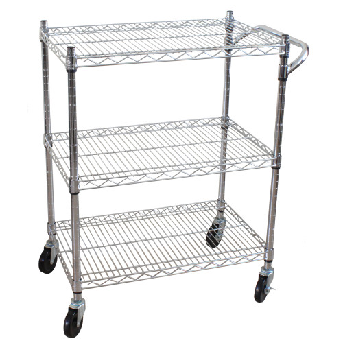Oceanstar 3 Tier Heavy Duty All-Purpose Utility Cart